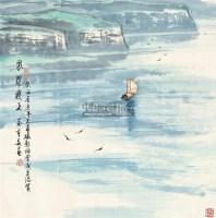 风骚远上 镜片 - 苗重安 - 中国书画 - 2011年春季艺术品拍卖会 -中国收藏网
