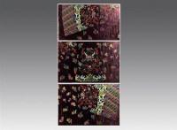 清宣统  绛色地织彩云四爪金蟒纹妆花缎吉服袍料(南京云锦) -  - 宫廷艺术精品专场 - 2009年北纬首届拍卖会 -收藏网