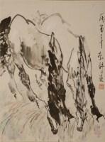 刘勃舒 (1935—)马 - 3946 - 雅纸藏中国现当代书画 - 2007首届秋季艺术品拍卖会 -中国收藏网