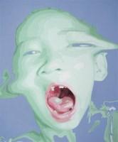 魏捍红 2003年作 幻No.3 布面 油画 -  - 中国当代油画 - 2006首届中国国际艺术品投资与收藏博览会暨专场拍卖会 -收藏网