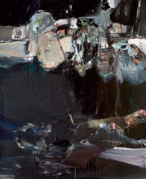 陈彧君 2005年作 人境-物语 布面 油画 - 127806 - 中国当代油画 - 2006首届中国国际艺术品投资与收藏博览会暨专场拍卖会 -收藏网