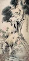 松鹤富贵图 立轴 设色纸本 - 5276 - 中国书画 - 2007秋季艺术品拍卖会 -中国收藏网