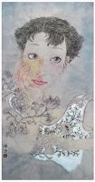 白雁 郁金香 镜心 -  - 中国书画 - 2007年秋季艺术品拍卖会 -收藏网