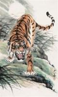 虎 立轴 设色纸本 - 姚少华 - 中国书画 - 2006年迎春拍卖会 -收藏网
