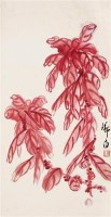娄师白 花卉 立轴 设色纸本 - 娄师白 - 中国书画 - 2006秋季文物艺术品展销会 -中国收藏网
