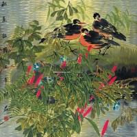 秋色留韵 镜心 设色纸本 - 6419 - 中国书画 - 2007春季中国书画拍卖会 -中国收藏网