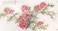 牡丹图 镜心 纸本 - 8373 - 中国书画专场 - 2012年迎春中国书画精品拍卖会 -收藏网