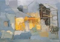 下梅印象 布面油彩 -  - 中国油画(二) - 2006年中国艺术品春季拍卖会 -收藏网