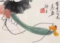 娄师白 瓜果 镜心 设色纸本 - 娄师白 - 中国书画 - 2006首届艺术品拍卖会 -收藏网