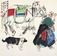 佛号声声 镜心 设色纸本 - 20236 - 中国书画(二) - 2011年秋季拍卖会 -中国收藏网