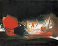 朱德群 构成系列之五五二号 - 119074 - 中国当代艺术(一) - 2007春季拍卖会 -收藏网