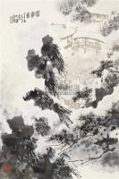 雪霁图 立轴 设色纸本 - 孙君良 - 当代中国书画 - 2006金秋拍卖会 -收藏网