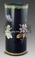 铜掐丝珐琅笔筒 -  - 古董珍玩 - 2011春季艺术品拍卖会 -收藏网