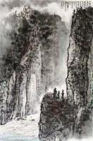 山水 立轴 设色纸本 - 118211 - 当代书画 - 2011春睡轩中国名家书画精品秋季拍卖会 -收藏网