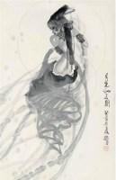 趙緒成(b.1943)月光仙子圖 -  - 中国书画 - 2008秋季艺术品拍卖会 -收藏网