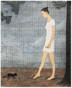 牛敏 小花 镜心 - 64970 - 中国书画 - 2007年秋季艺术品拍卖会 -收藏网