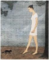 牛敏 小花 镜心 - 牛敏 - 中国书画 - 2007年秋季艺术品拍卖会 -收藏网