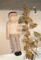 妄想者之二 布面  油画 - 向庆华 - 中国油画雕塑 - 2007春季艺术品拍卖会 -收藏网