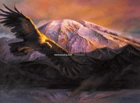 高远 布面油画 -  - 油画之光—油画专场 - 北京康泰首届艺术品拍卖会 -中国收藏网