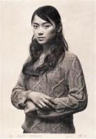 冷军 蒙娜丽莎—微笑的设计 石版素描 - 153445 - 中国油画 - 2006秋季艺术品拍卖会 -收藏网