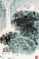 高山流水图 立轴 设色纸本 - 2538 - 中国书画 - 2007春季中国书画拍卖会 -收藏网