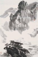 宁河晨渡 - 杨达林 - 中国书画(二) - 第60期翰海拍卖会 -中国收藏网