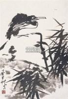 花鸟 立轴 水墨纸本 - 蒋风白 - 中国书画(一) - 2006金秋拍卖会 -收藏网