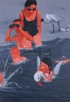 郭伟 1997年作 像鸟儿般游泳 - 郭伟 - 亚洲当代艺术 - 2007春季艺术品拍卖会 -收藏网
