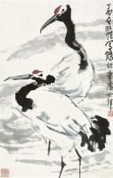 鹤 立轴 纸本 - 周顺恺 - 中国书画 - 2011秋季拍卖会 -收藏网