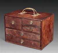 红木印章箱 -  - 中国古典家具及古董珍玩 - 2011年春季艺术品拍卖会 -中国收藏网