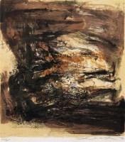 赵无极 无题 纸本石版 - 赵无极 - 中国油画 - 2006秋季艺术品拍卖会 -中国收藏网