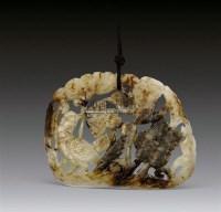 白玉透雕花鸟纹饰板 -  - 瓷器工艺品 - 2011夏季艺术品拍卖会 -收藏网