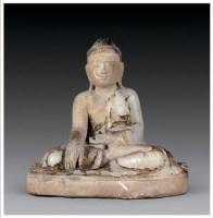 汉白玉雕释迦牟尼佛像 -  - 佛像唐卡 - 2007春季艺术品拍卖会 -收藏网