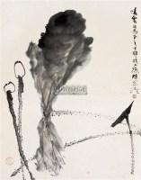 荷塘 立轴 水墨纸本 - 10308 - 艺海拾珍 - 2011年春季艺术品拍卖会 -中国收藏网