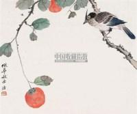 花鸟 镜心 - 125634 - 中国书画 - 第69期中国书画拍卖会 -收藏网