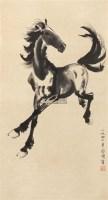 马 镜片 纸本 - 116101 - 文物商店友情提供 - 庆二周年秋季拍卖会 -收藏网