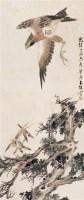 朱梦庐 1897年作 雄鹰 立轴 设色纸本 -  - 中国书画 - 2006秋季文物艺术品展销会 -中国收藏网