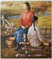 暖风 布面 油画 - 高虹 - 中国油画 - 2007春季艺术品拍卖会 -收藏网