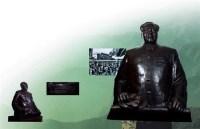 毛泽东半身像 铸铜 -  - 中国油画 雕塑专场 - 2008年迎春艺术品拍卖会 -收藏网