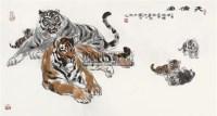 天伦图 设色纸本 - 许勇 - 聚虎堂藏中国书画 - 2011春季艺术品拍卖会 -收藏网