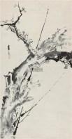 墨梅 立轴 水墨纸本 -  - 中国书画(一) - 第17期精品拍卖会 -收藏网