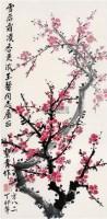 梅花 镜心 设色纸本 - 116701 - 中国书画(二) - 2009新春书画(第63期) -收藏网