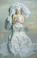曾传兴 2004年作 纸新娘-祷告 - 140903 - 亚洲当代艺术 - 2007春季艺术品拍卖会 -收藏网