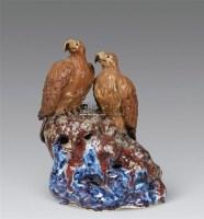 石湾双鹰 -  - 瓷器及工艺品 - 2011春季拍卖会 -收藏网