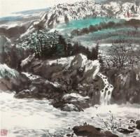 山水 镜心 纸本 - 126725 - 中国书画 - 2011秋季拍卖会 -收藏网