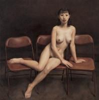 三椅图 布面  油画 - 杨飞云 - 现代中国艺术 - 2006秋季拍卖会 -收藏网