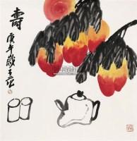 寿桃 立轴 - 116481 - 中国书画 - 2011年春季艺术品拍卖会 -收藏网