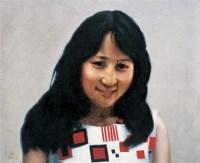 人物 布面 油画 - 王路 - 中国现当代艺术 - 2007迎春拍卖会 -收藏网