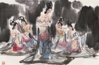 傅小石 反弹琵琶 镜心 设色纸本 - 115956 - 中国书画(二) - 2006秋季艺术品拍卖会 -收藏网