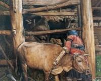 早春二月 布面 油画 -  - 油画、雕塑、版画暨广东油画、水彩 - 2006冬季拍卖会 -收藏网